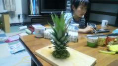 パイナップル頭
