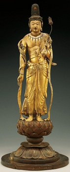 快慶作≪弥勒菩薩立像≫ 鎌倉時代・文治5年 ボストン美術館 日本美術の至宝