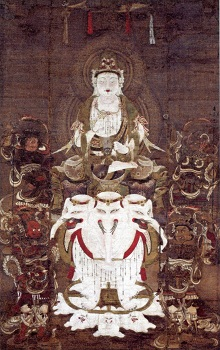 「普賢延命菩薩像」 平安時代・12世紀後半 ボストン美術館 日本美術の至宝