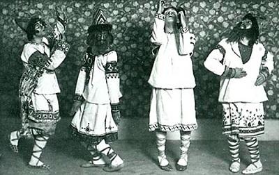 ニジンスキー版『バレエ:春の祭典』