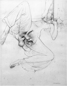 ハンス・ベルメールによるジョルジュ・バタイユ『眼球譚』の挿絵