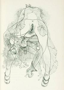 ハンス・ベルメールによるジョルジュ・バタイユ『眼球譚』の挿絵2