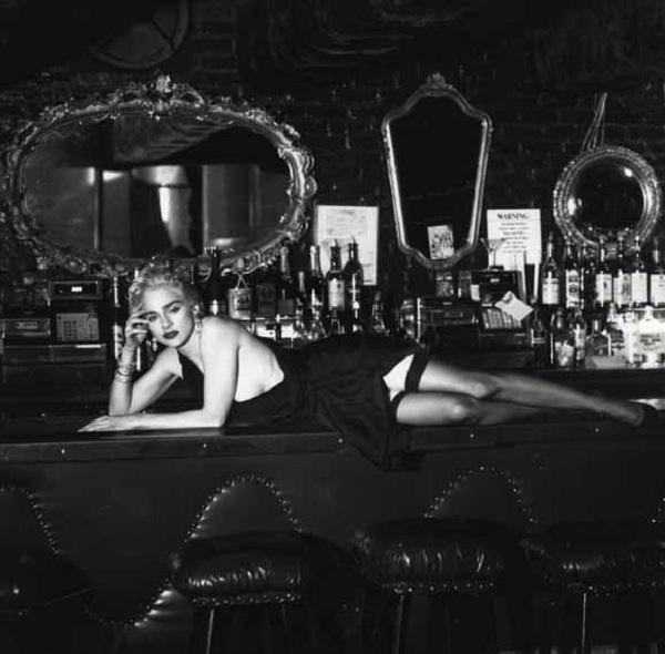 Madonna Helmut Newton  ヘルムート・ニュートン_マドンナ