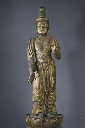重要文化財 薬王菩薩立像