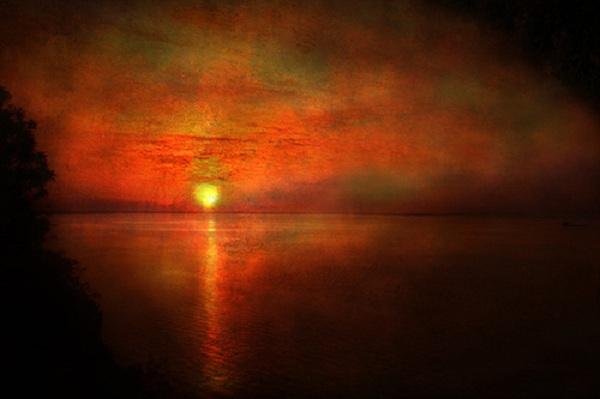 ターナー_サンセット_William_Turner_sunset