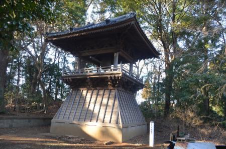 20140131印西八景 長楽寺01