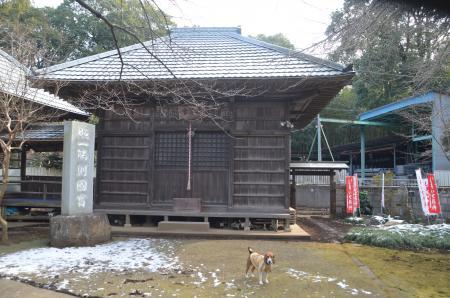20140206しろい七福神②西輪寺06