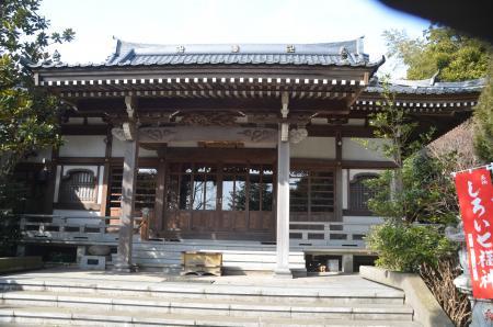20140206しろい七福神⑦薬王寺04