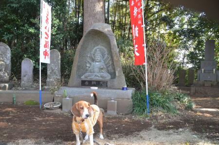 20140206しろい七福神⑦薬王寺03