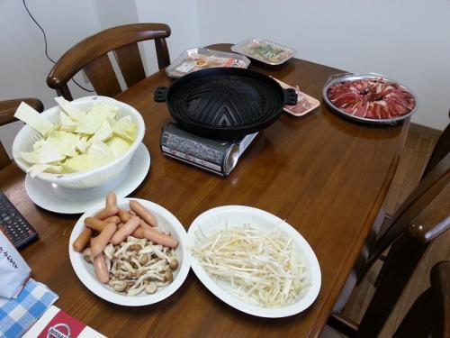 ジンギスカン焼き肉