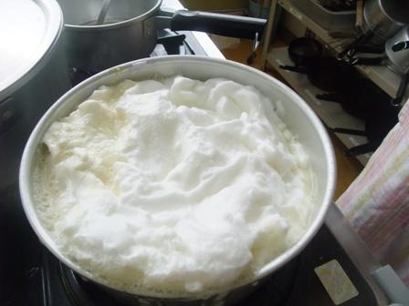 メレンゲ鍋