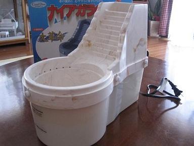 自動水浴び器