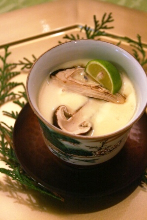 web松茸茶碗蒸し4