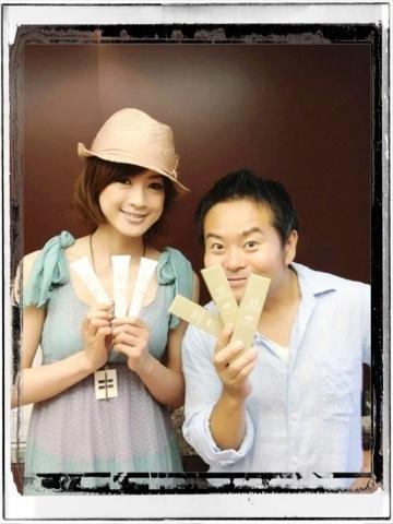 高垣麗子と柴田洋一郎