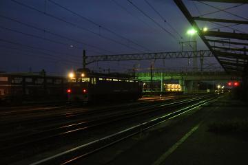 鍋島貨物駅の夜(1)