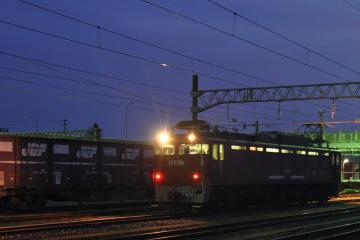 鍋島貨物駅の夜(2)
