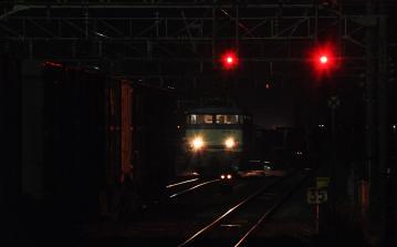 鍋島貨物駅の夜(4)