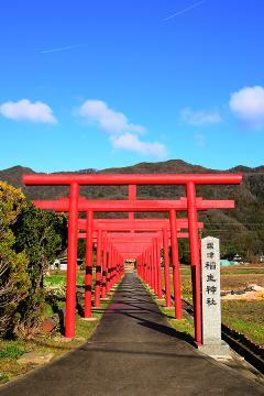 粟津稲生神社(1)