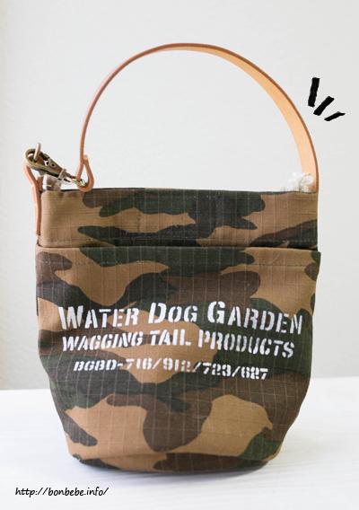 water dog garden バッグ