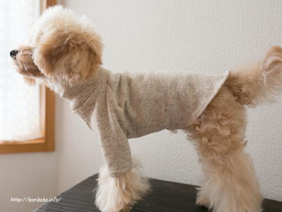 犬服 タートルネック