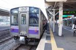 一ノ関駅 東北本線下り盛岡行き