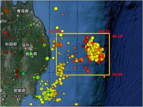 三陸沖GR則MAP