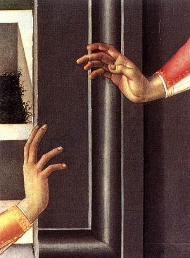 Cestello Annunciation (detail) 1489-90