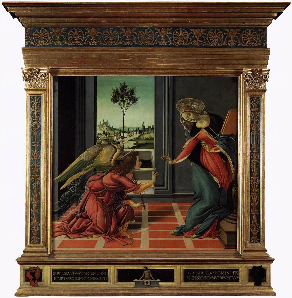 Cestello Annunciation 1489-90