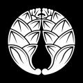 600px-Japanese_crest_daki_Myouga.svg[1]