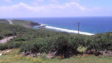 与那国島の海岸小