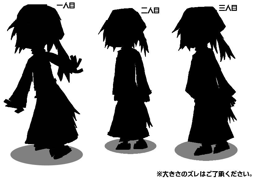 \江戸紫三姉妹!/影絵