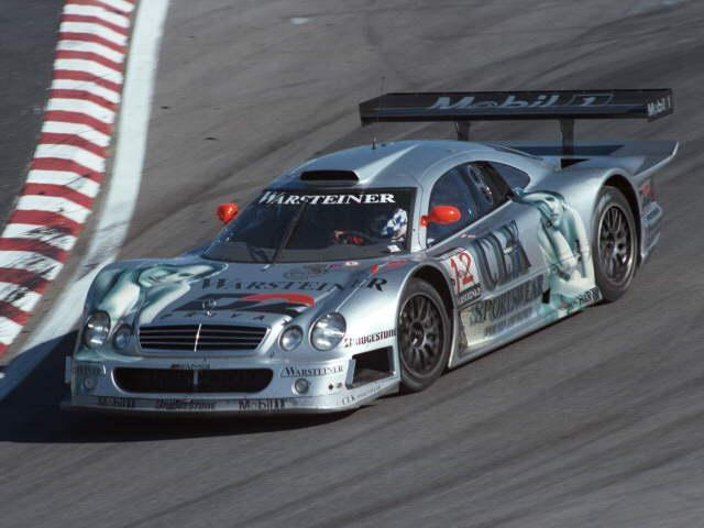 Clk Lm Race Car Gt
