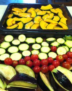 夏の焼き野菜