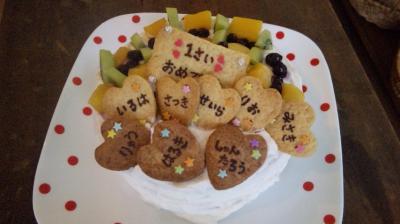 クッキーのケーキ