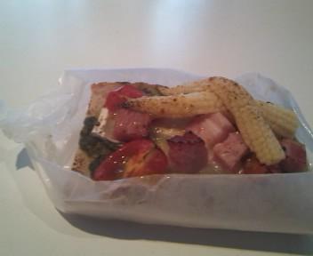 夏野菜パン