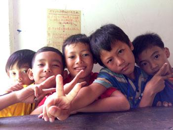 愛センターの子供たち