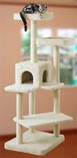 猫タワー白3