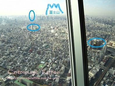 東京スカイツリーからの景色2