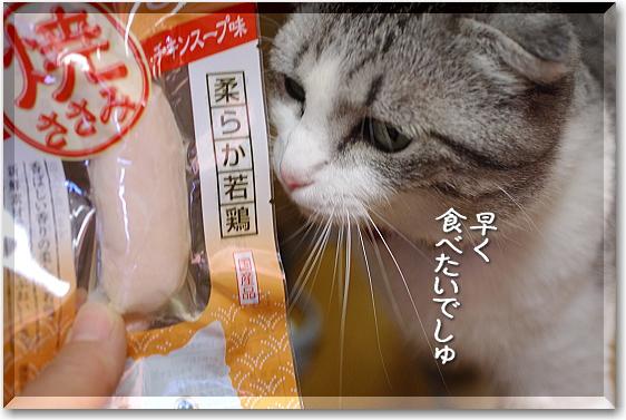 ささみぃ~早く食べたい