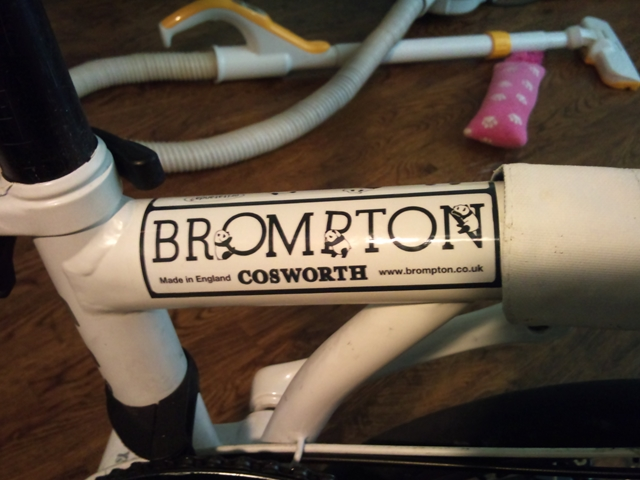 brompton ステッカー