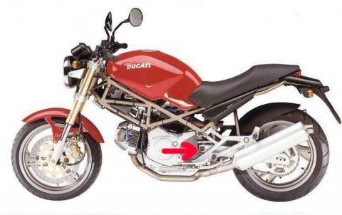 Ducati monster 400 94