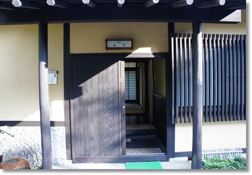 離れの玄関