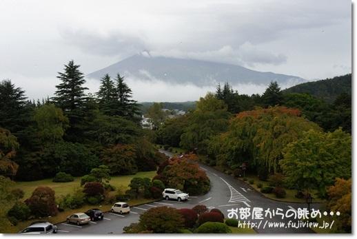 部屋からの冨士山