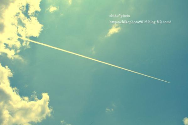 photo-145 ひこうき雲