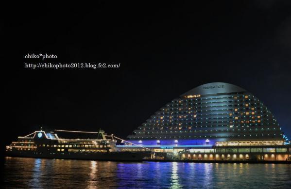 photo-185 神戸の夜景・・・オリエンタルホテルルミナス神戸