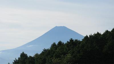 十国峠あたりからの富士山