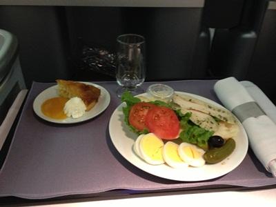UA 機内食