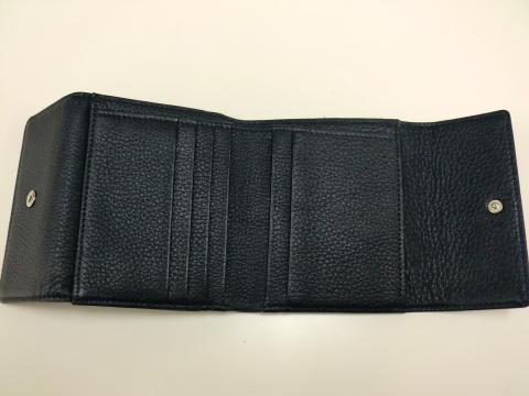 オーダーメイド牛革製二つ折り財布完成です!