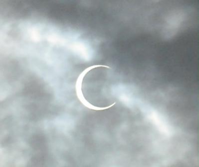 7:26 の日食