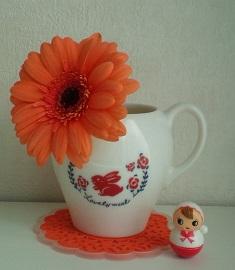 花オレンジ